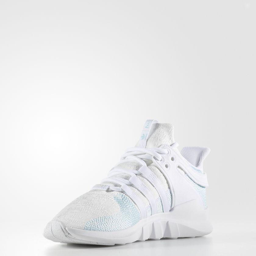 newest 4ad90 59128 ... Hombre Adidas Originals EQT Support ADV Parley Zapatos Ftwr Blancas   Azul Spirit S11  Off ...