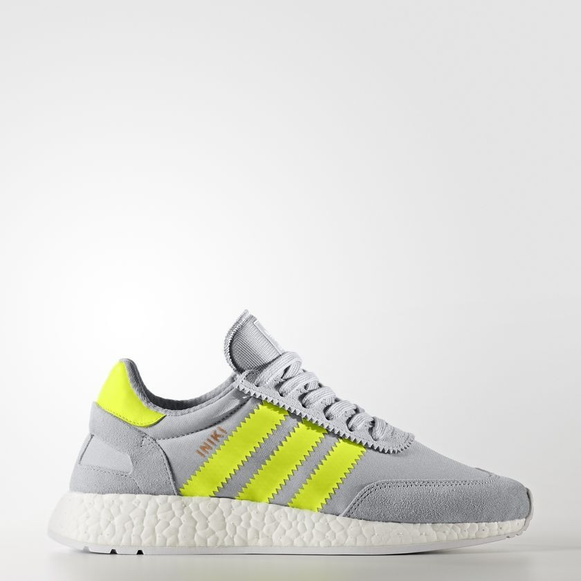 promo code c249c 12898 Adidas Originals Iniki Runner Zapatos Mujer Clear Onix   Solar Amarillo    Calzado Blancas BB0001