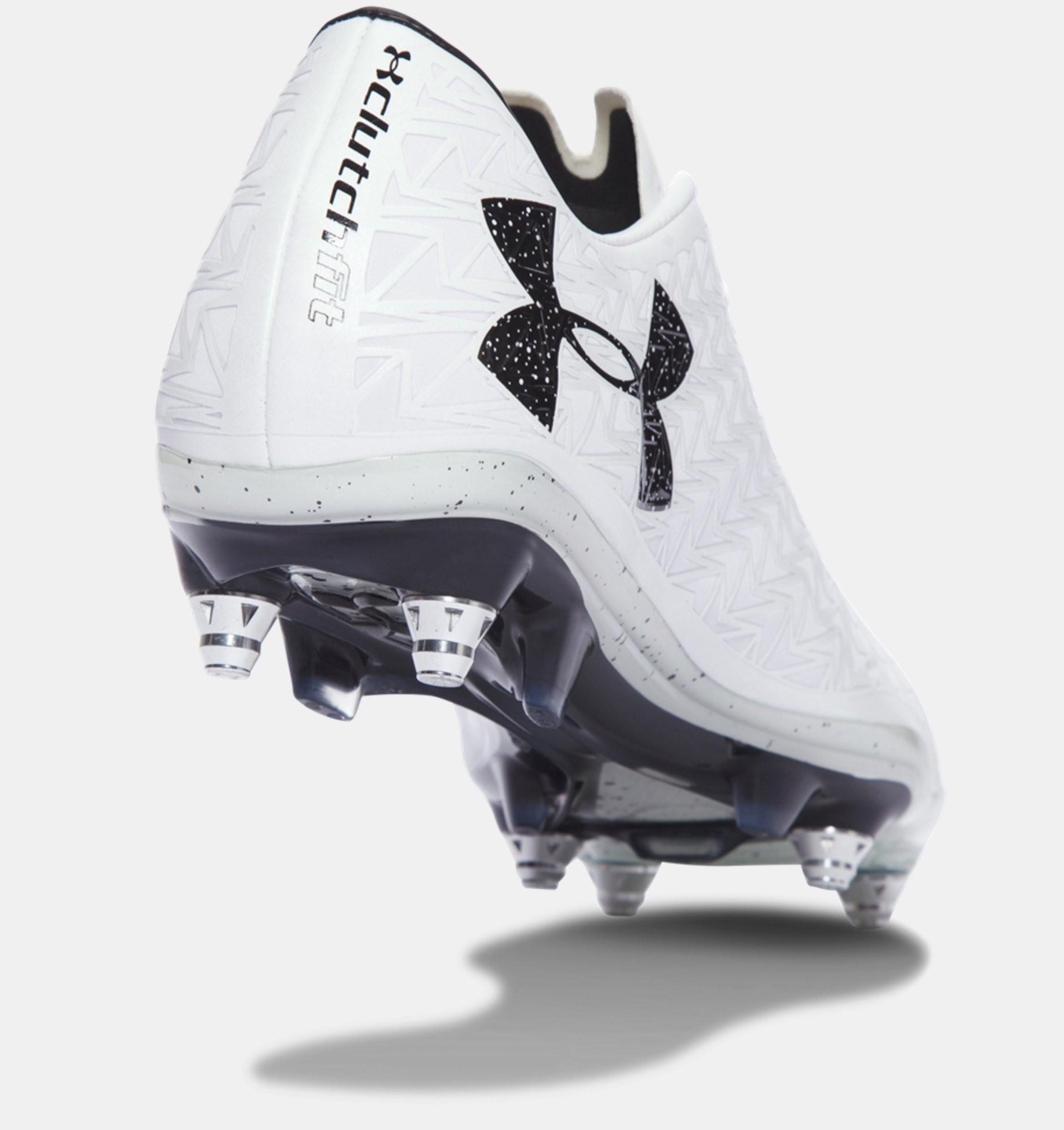... Botas de fútbol híbrido Under Armour ClutchFit® Force 3.0 Hombre  Blancas (100) ... e194daf06e5bd