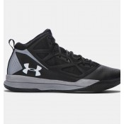 Zapatillas Under Armour Jet Mid Basketball Hombre Negro (001)