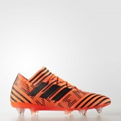 Hombre Adidas Fútbol Nemeziz 17.1 Soft Ground Boots Solar Naranja / Core Negro / Solar Rojo S82334