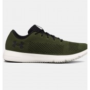 Hombre Under Armour Rapid Running Zapatillas Verde (300)