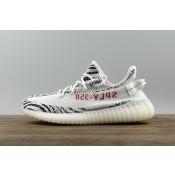 "Adidas Yeezy Boost 350 V2 Mujer / Hombre ""Zebra"" CP9654 Calzado Blancas Rojo"