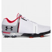 Zapatos de golf Under Armour Spieth One Hombre Blancas / Gris / Rojo (108)