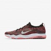 Zapatillas de entrenamiento Mujer Nike Zoom Fearless Flyknit 850426-009 Negro / Rojo Solar / Gris Oscuro / Blancas
