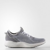 Running Adidas alphabounce Lux Zapatos Mujer Gris Three / Gris Two / Footwear Blancas BW1216