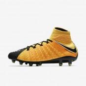Nike Hypervenom Phantom 3 DF AG Bota de fútbol de césped artificial Hombre / Mujer 852550-801 Laser Naranja / Negro / Volt / Blancas