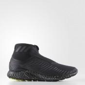 Hombre Running Adidas alphabounce 5.8 Zip Zapatillas Core Negro / Utility Negro / Calzado Blancas BW1386