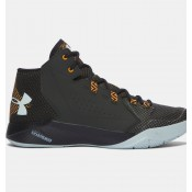 Hombre Under Armour Torch Fade Zapatos Verde / Negro / Naranja (357)
