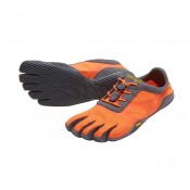 Vibram Fivefingers KSO EVO Mujer Fiery Coral Gris