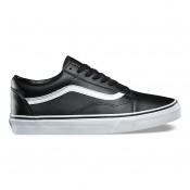 Vans Classic Tumble Old Skool Zapatos Hombre Negro / True Blancas