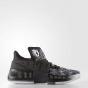 Hombre Baloncesto Adidas Dame 3 Zapatos Negro / Calzado Blancas / Core Negro / Onix BY3760