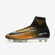 Botas de fútbol Nike Mercurial Superfly V AG-PRO de césped artificial Hombre / Mujer 831955-801 Láser Naranja / Blancas / Volt / Negro