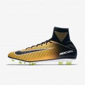 Hombre / Mujer Nike Mercurial Veloce III Dynamic Fit FG Botas de fútbol para suelo firme 831961-801 Laser Naranja / Blancas / Volt / Negro