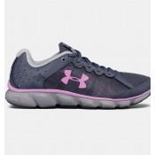 Zapatillas de running Under Armour Micro G® Assert 6 Mujer Gris / Fucsia (104)