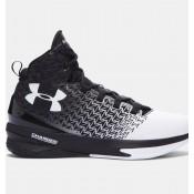Under Armour ClutchFit® Drive 3 Zapatillas de baloncesto Hombre Negro / Blancas (002)