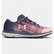 Zapatillas de running Under Armour SpeedForm® Velociti Mujer Fucsia / Gris (600)