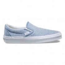 Camisa Vans Speckle Slip-On Mujer Azul / true Blancas