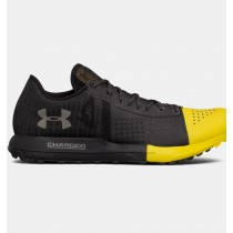 Hombre Under Armour Horizon KTV Trail Running Zapatillas Negro / Amarillo (001)