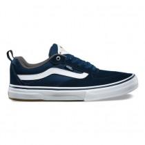 Hombre Vans Kyle Walker Pro Zapatos Azul marino / Blancas