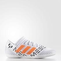 Adidas Fútbol Nemeziz Messi Tango 17.3 Botas de interior Hombre Calzado Blancas / Solar Naranja / Core Negro CG2967