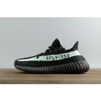 Adidas Yeezy 350 V2 Negro Verde Glow Kanye West Hombre