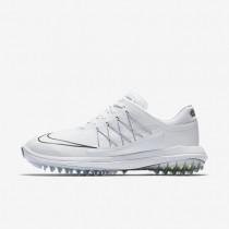 Zapatillas de golf Nike Lunar Control Vapor Mujer 849979-101 Blancas / Metallic Plata / Metallic Plata / Blancas
