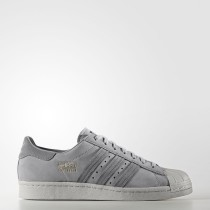 Adidas Originals Superstar 80s Zapatos Mid Hombre Mujer Gris / Gris Three / Mid Gris BZ0208