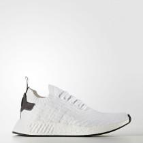 Adidas Originals NMD_R2 Primeknit Zapatos Mujer Hombre Calzado Blancas / Core Negro / Calzado Blancas BY3015