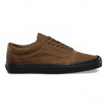 Vans Suede Old Skool Zapatos Hombre Teak / Negro