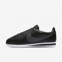 Zapatillas Nike Classic Cortez Leather Hombre 749571-011 Negro / Blancas / Gris oscuro
