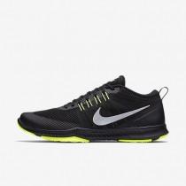 Zapatillas de entrenamiento Nike Zoom Domination Hombre 917708-018 Negro / Volt / Metallic Plata