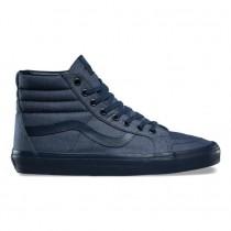 Hombre Vans Mono Chambray SK8-Hi Reedición Zapatos Azul marino