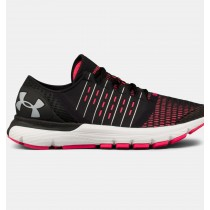 Zapatillas de running Under Armour SpeedForm® Europa Mujer Negro / Rojo (002)