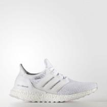 Zapatillas Mujer Running Adidas Ultra Boost Blancas / Crystal Blancas BA7686