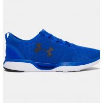 Under Armour Charged CoolSwitch de los hombres de los zapatos deportivos azules (907)