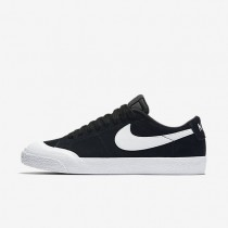 Hombre Zapatillas Nike SB Blazer Low XT Skateboarding 864348-019 Negro / Encías Marrón / Blancas / Blancas