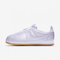 Zapatillas Nike Classic Cortez QS Mujer 920440-500 Barely Grape / Blancas / Gum Amarillo / Barely Grape