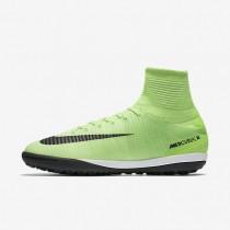 Zapatillas de fútbol Nike MercurialX Proximo II TF Turf Hombre / Mujer 831977-308 Verde eléctrico / Verde fantasma / Volt / Negro