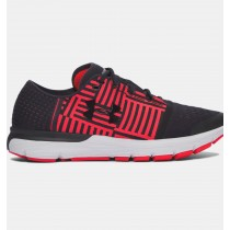 Zapatillas de running Under Armour SpeedForm® Gemini 3 Hombre Negro / Rojo (004)