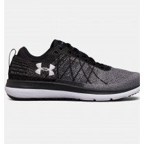 Zapatillas de running Under Armour Threadborne Fortis 3 Mujer Negro / Gris (001)
