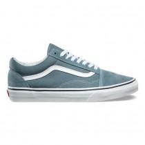 Vans Old Skool Zapatos Hombre Goblin Azul / True Blancas