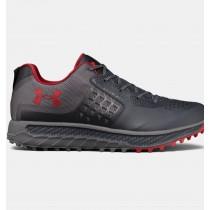 Zapatillas de running Under Armour Horizon STR Trail Hombre Gris / Rojo (016)