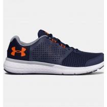 Zapatillas de running Hombre Under Armour Micro G® Azul marino / Naranja (410)