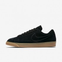 Mujer Nike Blazer Low zapatos AA3962-002 Negro / Gum Ligero Marrón / Negro