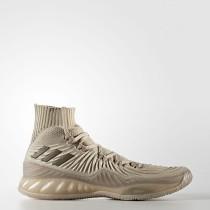 Hombre Baloncesto Adidas Crazy Explosive 2017 Primeknit Zapatos Beige / Trace Khaki / Cargo Marrón / Ropa de color caqui BY4471
