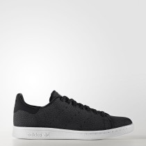 Adidas Originals Stan Smith Zapatos Hombre Core Negro / Calzado Blancas BY8723