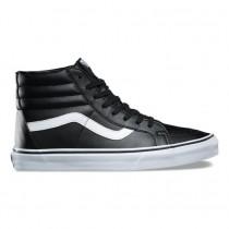 Mujer Vans Classic Tumble SK8-Hi Reedición Zapatos Negro / True Blancas