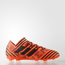 Hombre Adidas Fútbol Nemeziz 17.2 Botas de tierra firme Solar Naranja / Core Negro / Solar Rojo S80597