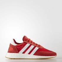 Hombre Mujer Adidas Originals Zapatillas Iniki Runner Rojo / Calzado Blancas / Goma BY9728
